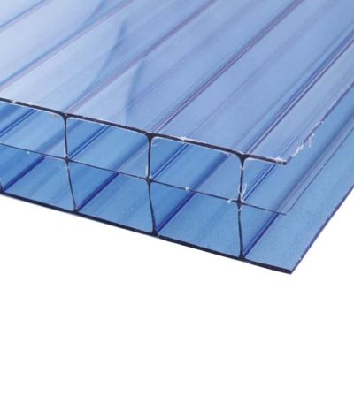 16mm Policarb®, 3 Walls Blue