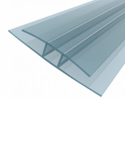 H Polycarbonate Profile - 8mm