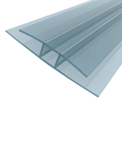 H Polycarbonate Profile - 10mm