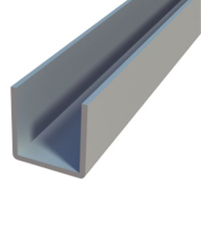 U Aluminum Profile - 16mm