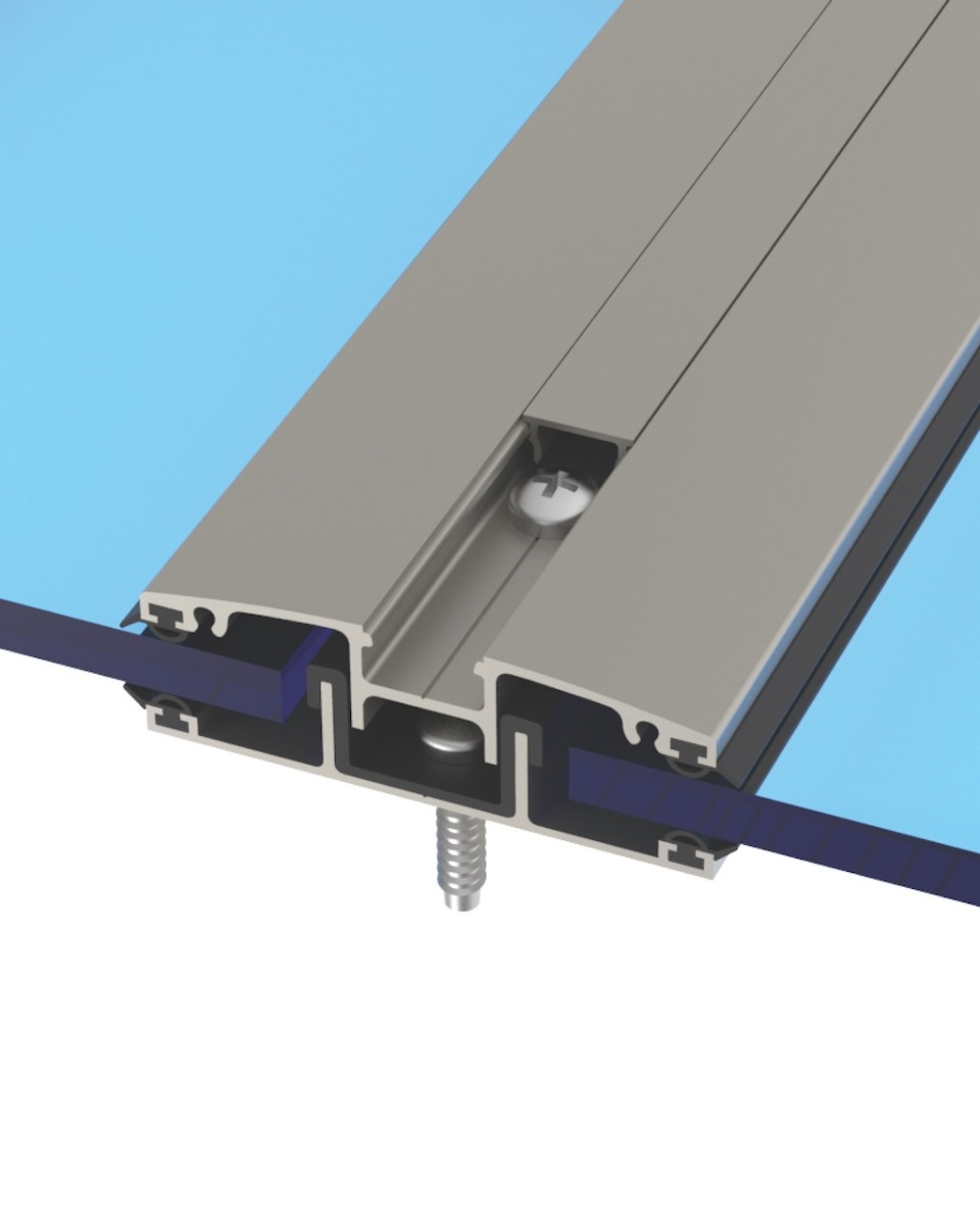 H Aluminum Structure With Polycarbonate Solid Sheet