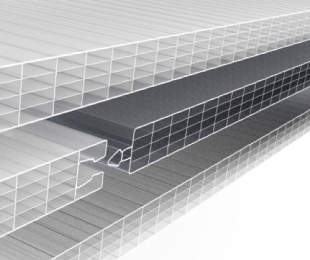 ArcoPlus Polycarbonate Interlocking System