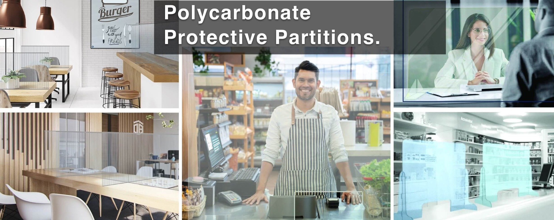 polycarbonate partitions